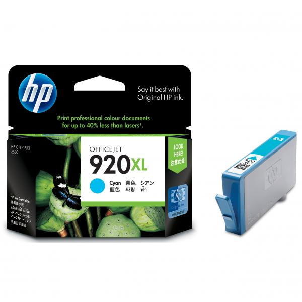 ink.HP,CD972AE, HP 920XL, cyan, 700str.