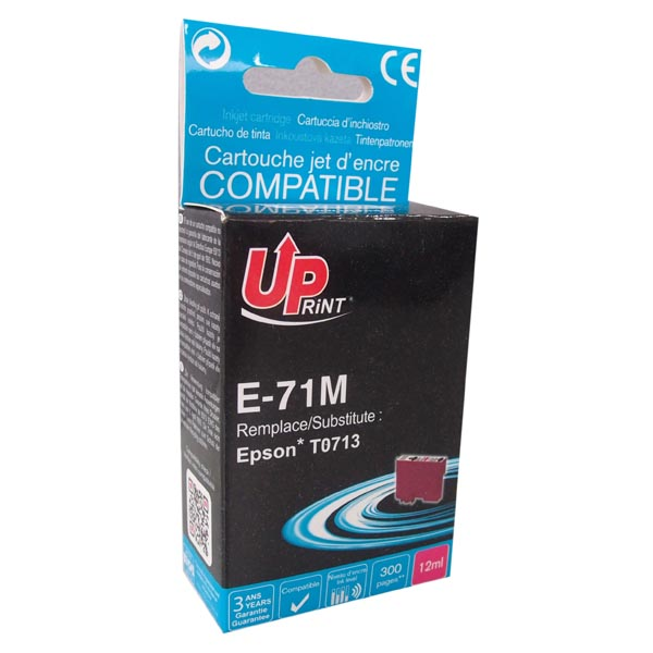 ink.UP Epson,C13T07134011, magenta, 11ml