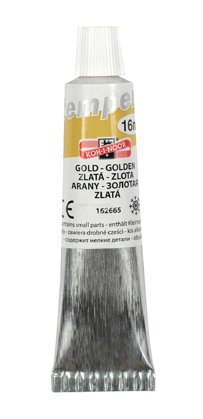 tempery 16ml 162665 zlatá