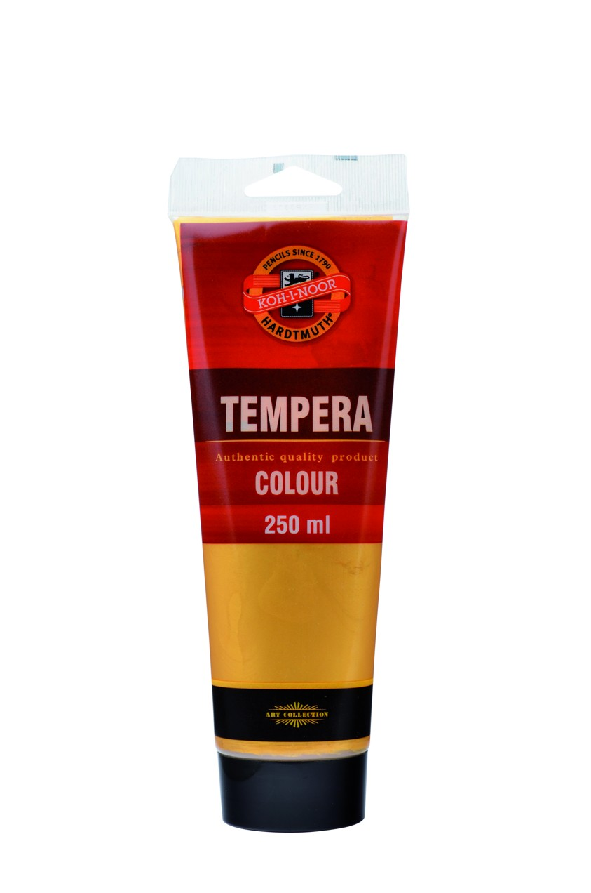 tempery 250ml 162822 zlatá