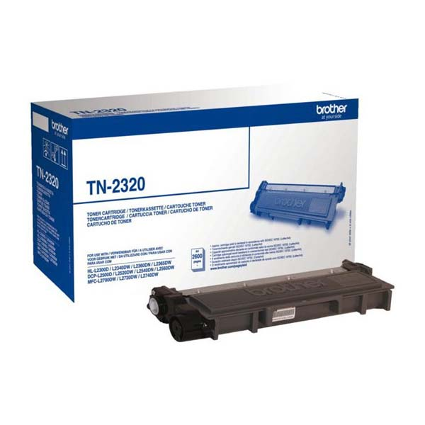 Toner Brother TN2320,black,2600str.