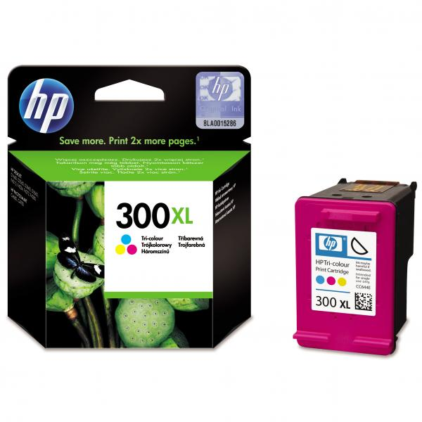 ink.HP,CC644EE,HP 300XL, color, 440str., 11ml