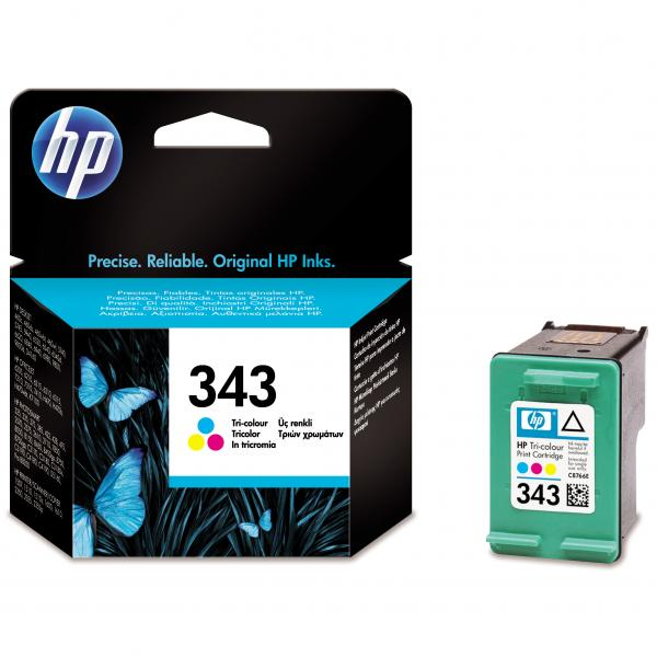 ink.HP,C8766EE, HP 343, color, 260str., 7ml