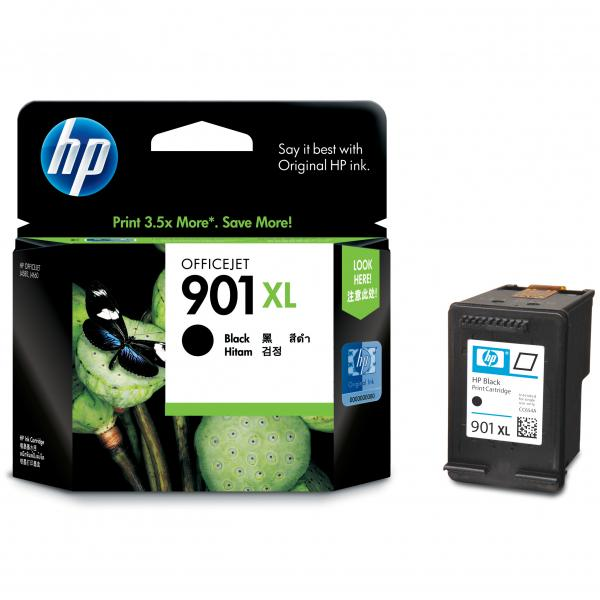ink.HP,CC654AE, HP 901XL, black, 700str., 14ml