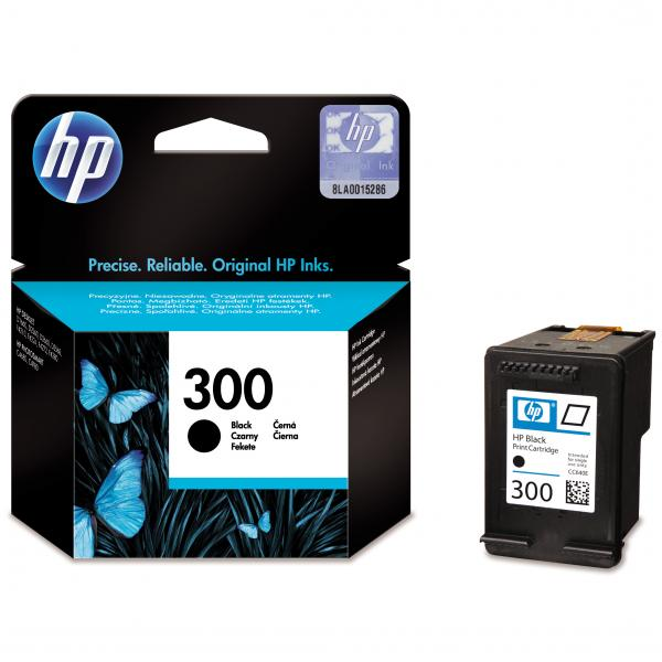 ink.HP,CC640EE, HP 300, black, 200str., 4ml