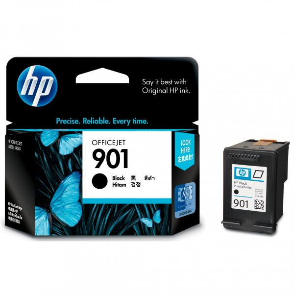 ink.HP,CC653AE, HP 901, black, 200str., 4ml