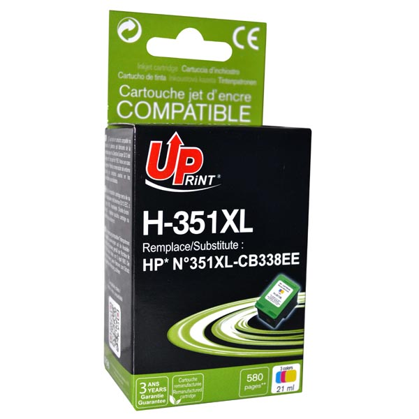 ink.UP CB338EE, HP 351XL, color, 21ml