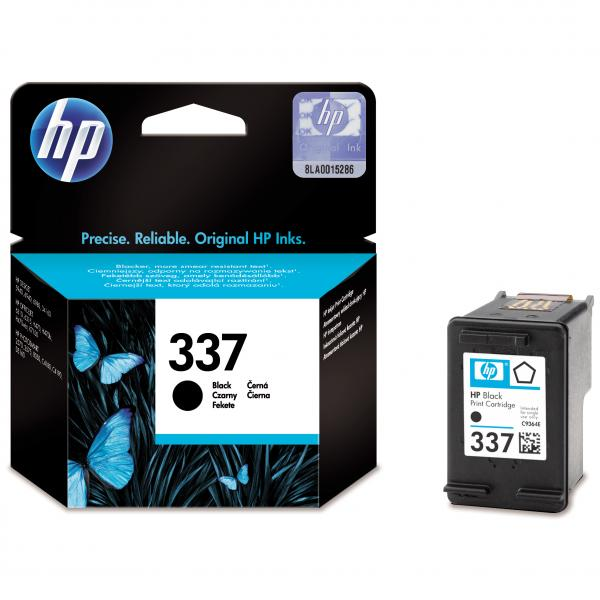 ink. HP,C9364EE, HP 337, black, 400str., 11ml