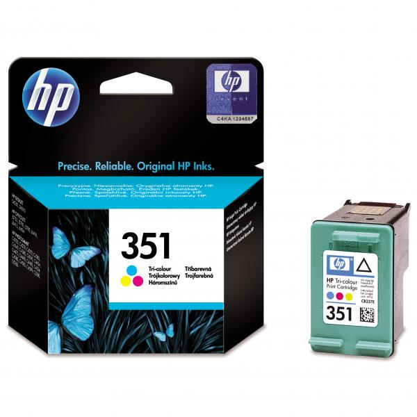 ink.HP CB337EE  HP 351 color 3,5ml - expirace 04/2018 1ks skladem