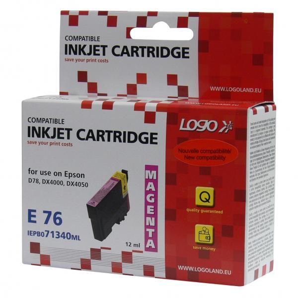ink.LOGO Epson C13T07134011, magenta, 12ml