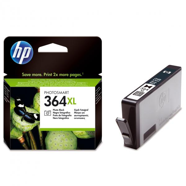 ink.HP,CB322EE, HP 364XL, photo black, 290str