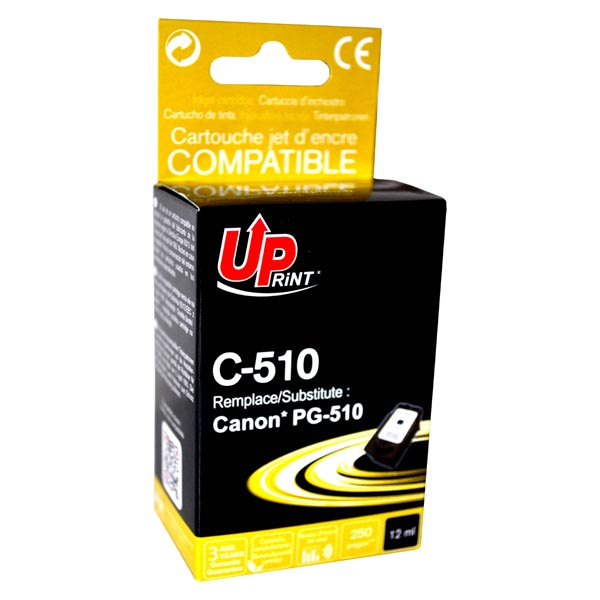 ink.UP Canon PG510BK, black, 12ml