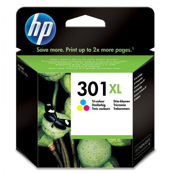 ink.HP CH564EE, HP 301XL, color, 330str.