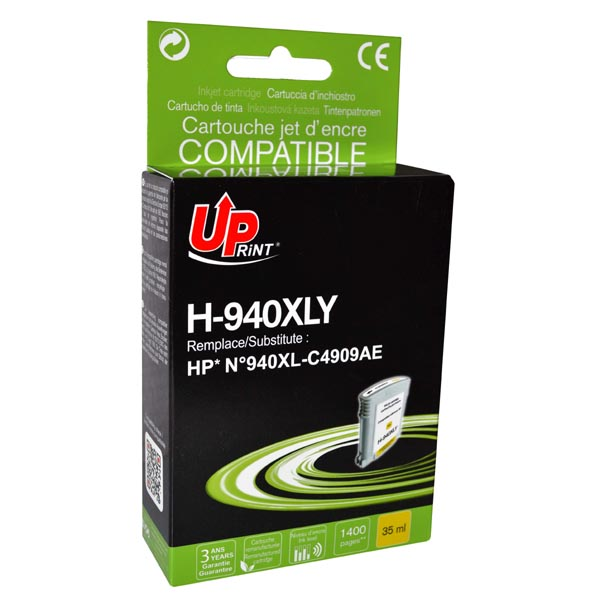 ink.UP HP C4909AE, HP 940XL, yellow, 35m