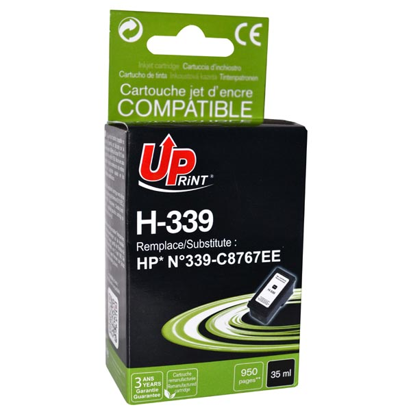 ink.UP HP C8767EE, black, 35ml