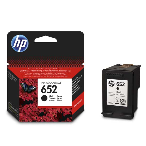 ink.HP F6V25AE HP 652 black