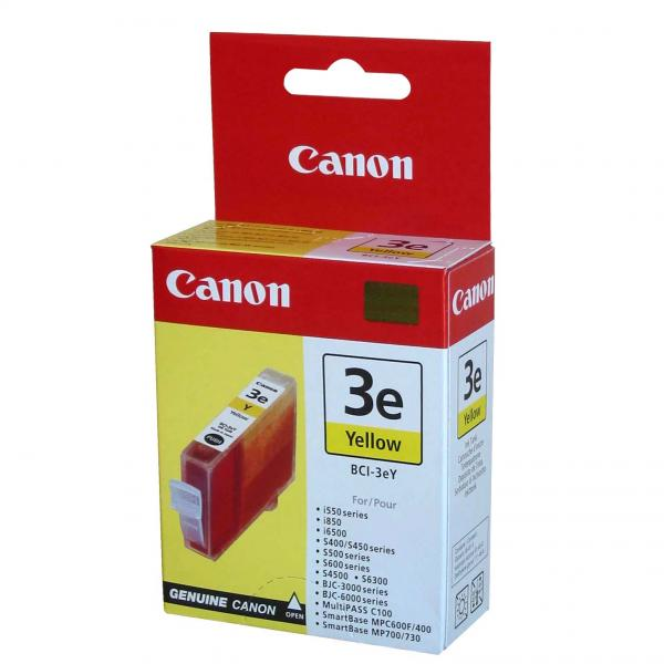 ink.Canon BCI3eY, yellow, 280str., 13ml