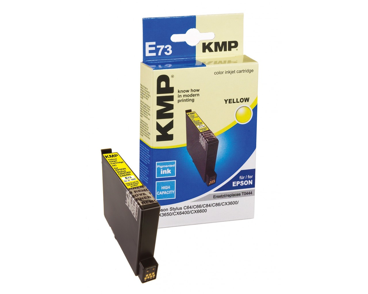 KMP Epson E73 ink cartridge žlutá 13ml