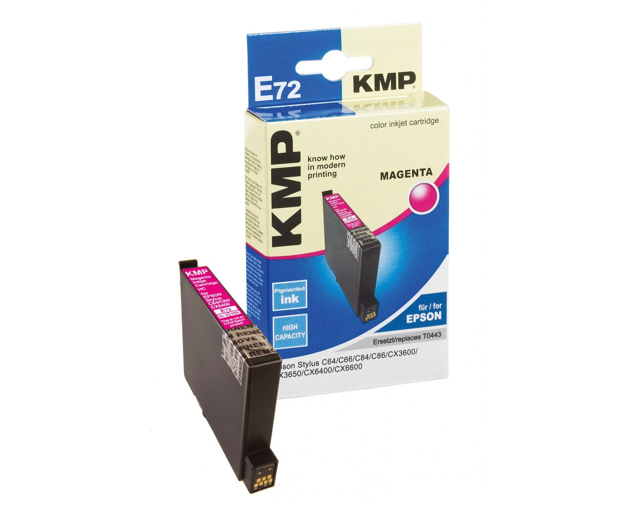 KMP Epson E72 ink cartridge magenta 13ml