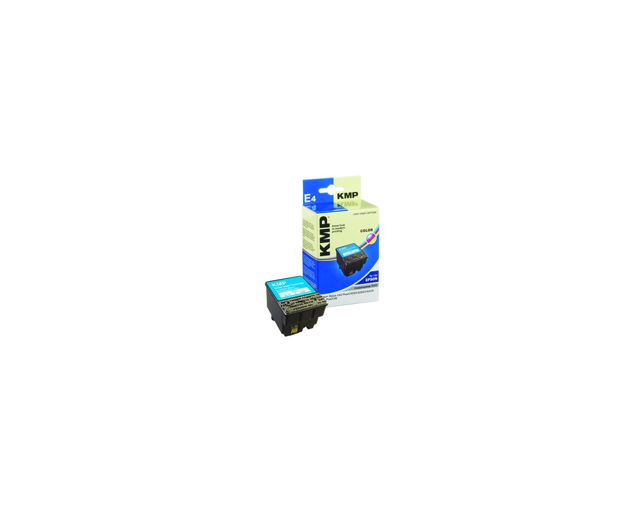 KMP Epson E4 ink cartridge color 25ml