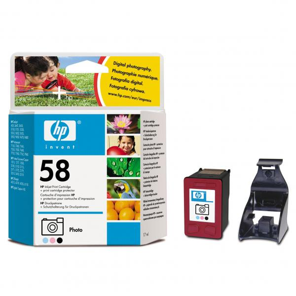ink. HP 58 C6658AE photo color 17 ml - expirace 11/2008  1ks skladem