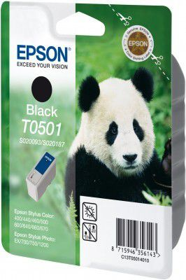 ink. EPSON, T050140,black,15 ml