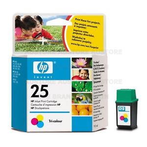 ink.HP 25,51625 AE,color,19,5 ml
