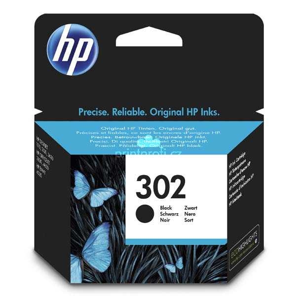 ink.HP 302,F6U66AE ,black