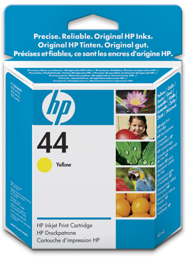 ink.HP 44 ,yelow 42 ml