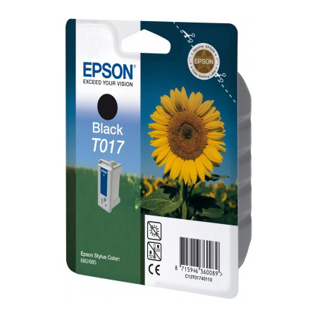 ink.Epson T017401,black 17 ml