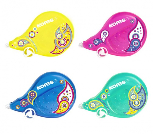 Korekční roller Kores Scooter Paisley 4,2 mm x 8 m