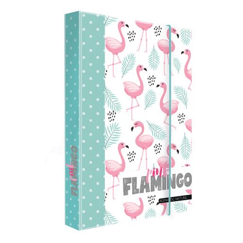 Box na sešity A5 Romantic Nature Flamingo