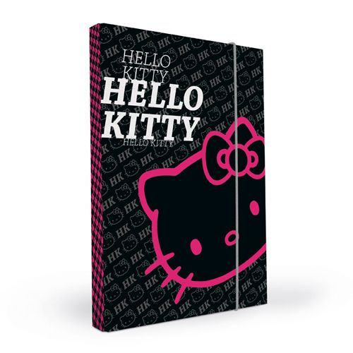 Box na sešity A4 Hello Kitty Black